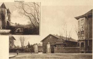 Der Eingangsbereich der Gewehrfabrik (heute DEPRAG-Gelände) StadtAAM 102-014-001