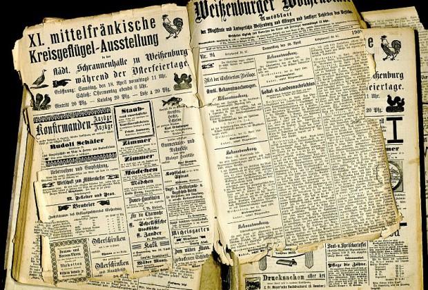 Weißenburger Wochenblatt 1908