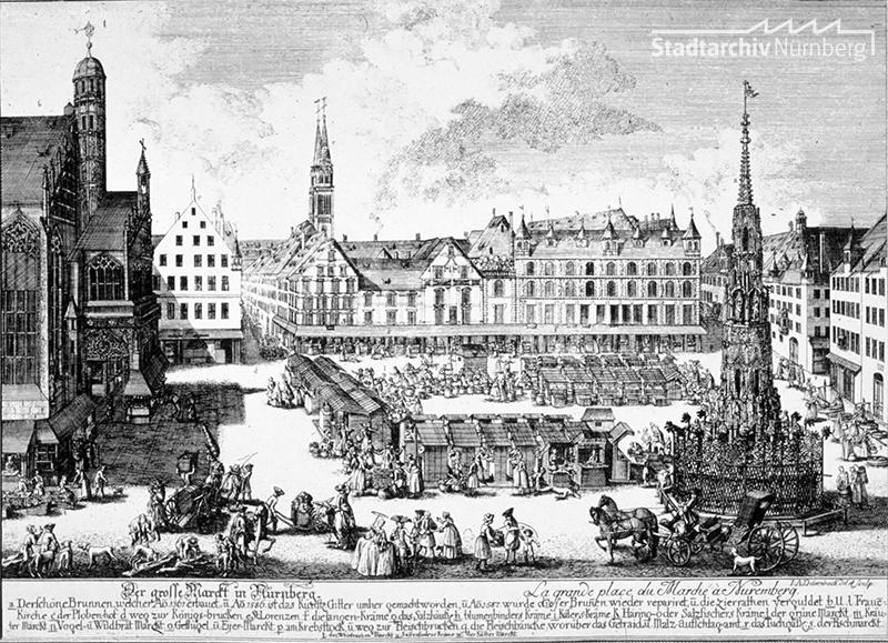 Der Nürnberger Christkindlesmarkt (A. Delsenbach, 1900)
