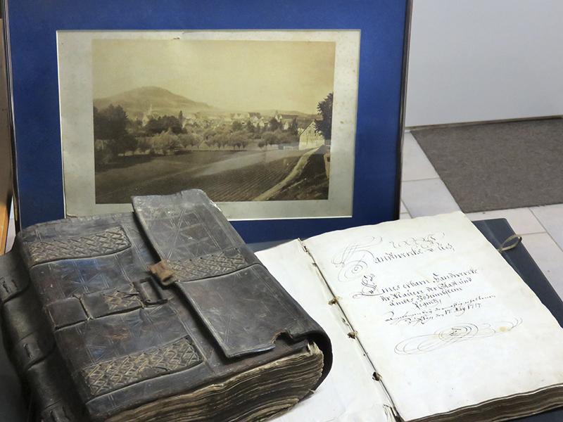 Archivalien des Stadtarchivs Pegnitz