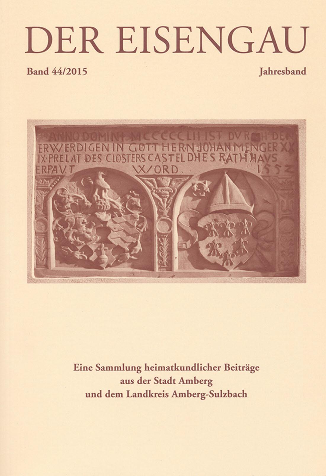 """Die Titelseite des neuen """"Eisengau"""""""