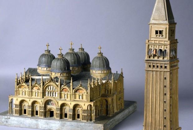 Modell des Markusdoms Venedig