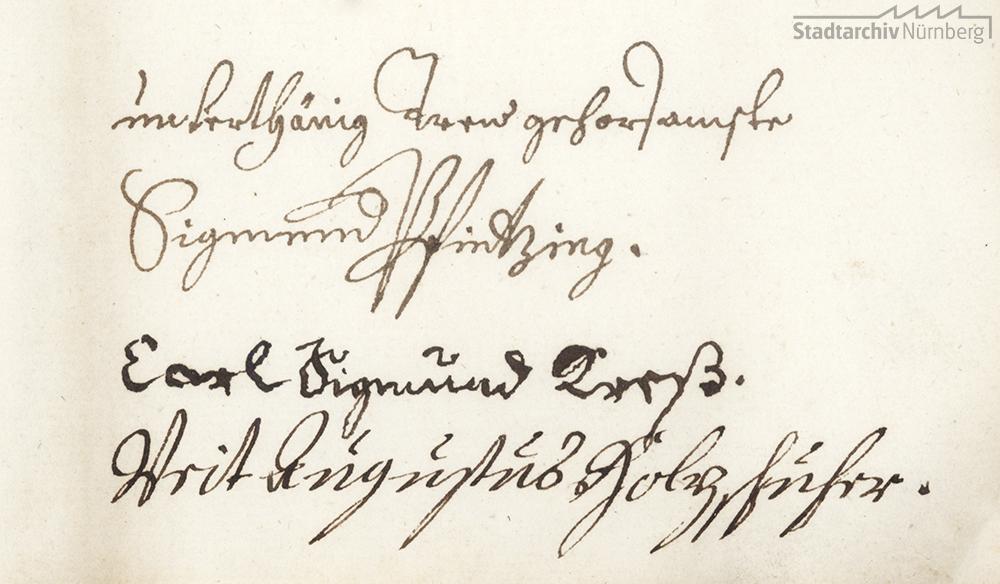 Prüfung des von Pfarrer Johann Gottfried Biedermann herausgegebenen Geschlechtsregisters des Nürnberger Patriziats