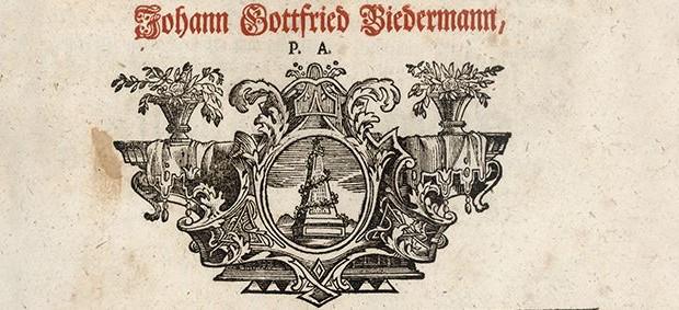 """Ausschnitt """"Geschlechts-Register Der Reichs-Frey unmittelbaren Ritterschaft Landes zu Francken, Löblichen Orts Baunach"""""""