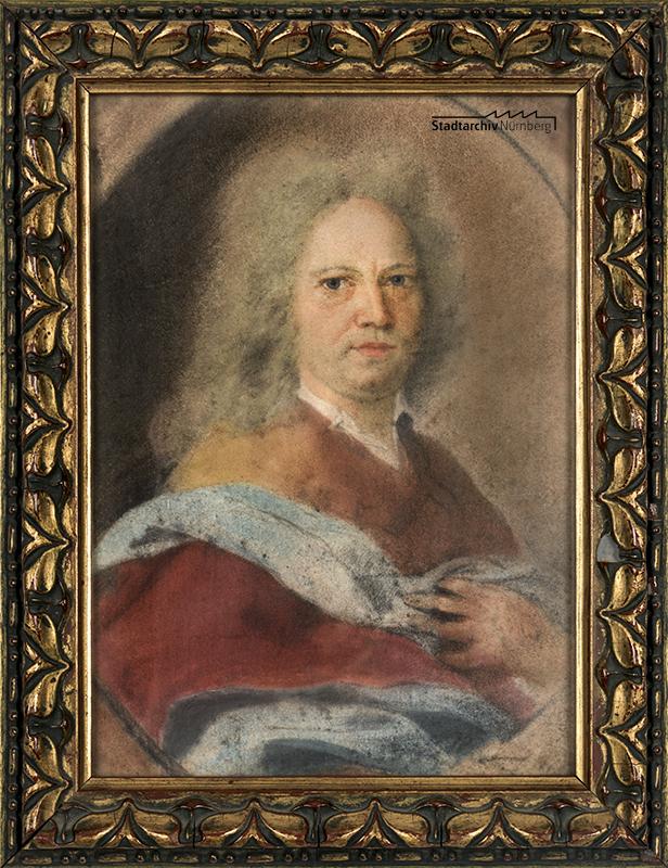 Porträt des Jobst Lazarus König (1675-1752).