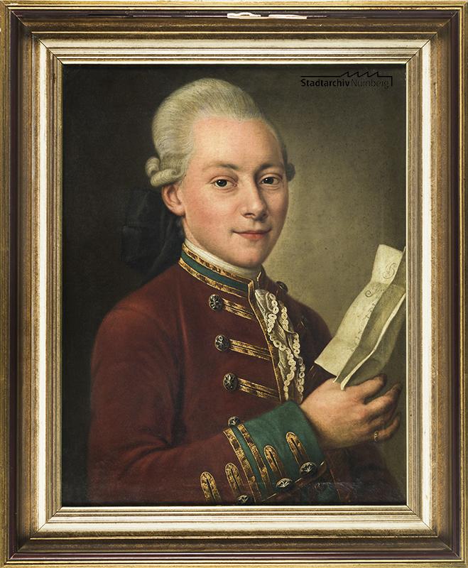 Porträt des Gustav Georg König von Königsthal