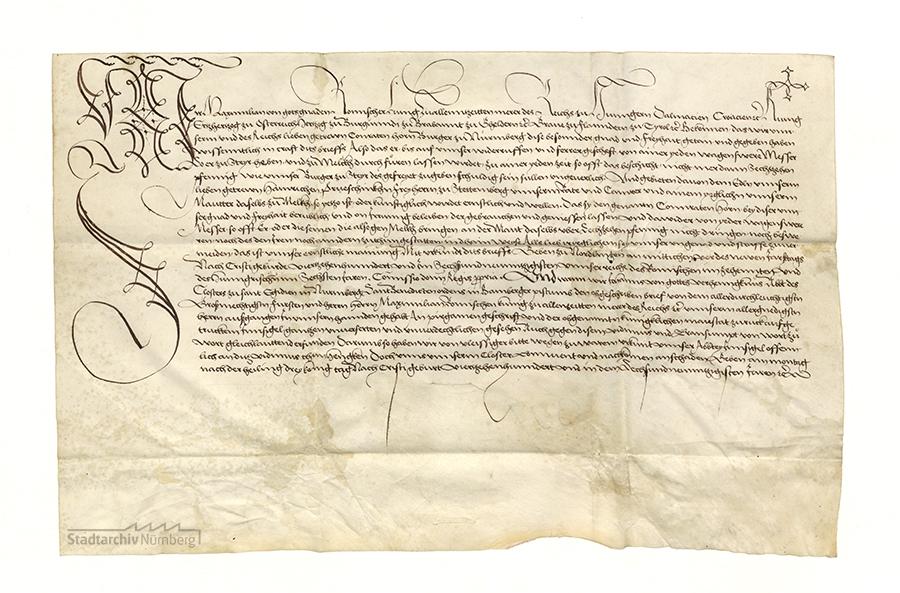 Urkunde Maximilians