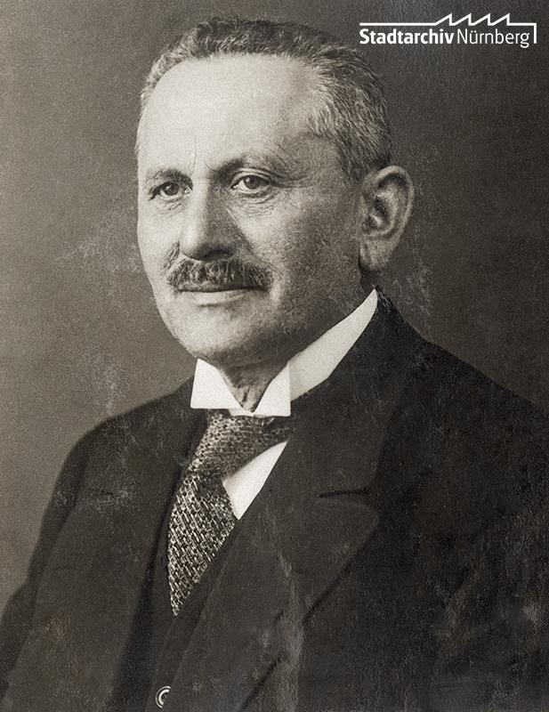Berthold Cohn. Foto, um 1915. (Stadtarchiv Nürnberg C 21/VII Nr. 22)