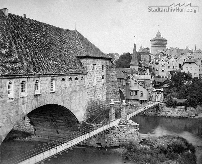 Kettensteg um 1880