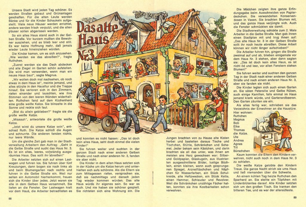 """Artikel """"Das alte Haus"""" aus Heft 6 von 1969 (Stadtarchiv Nürnberg E 6/954 Nr. 7)"""