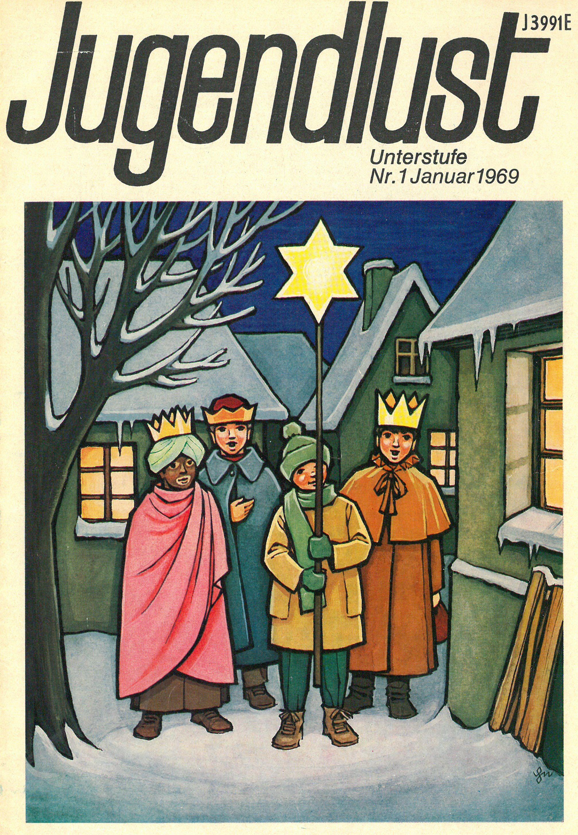 Titelblatt Heft 1 1969 (Stadtarchiv Nürnberg E 6/954 Nr. 7)