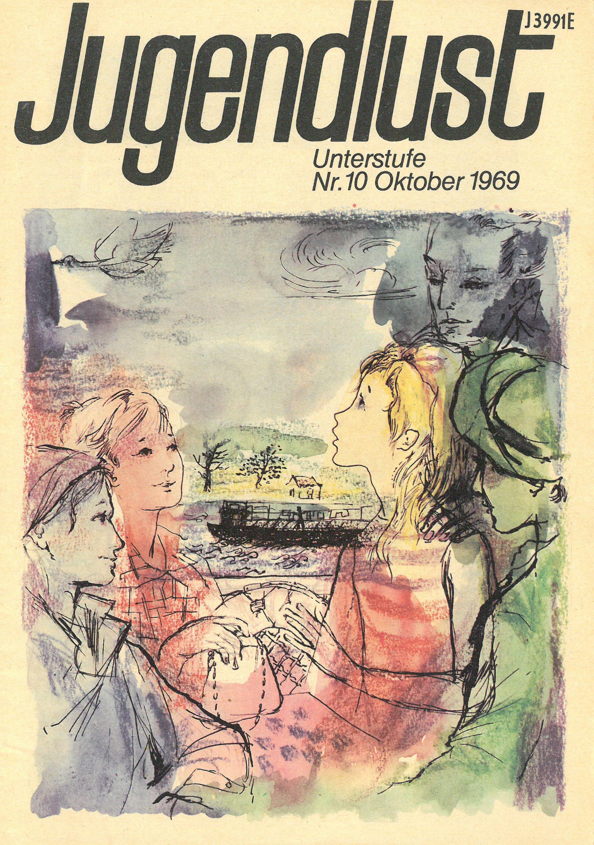 Titelblatt Heft 10 1969 (Stadtarchiv Nürnberg E 6/954 Nr. 8)