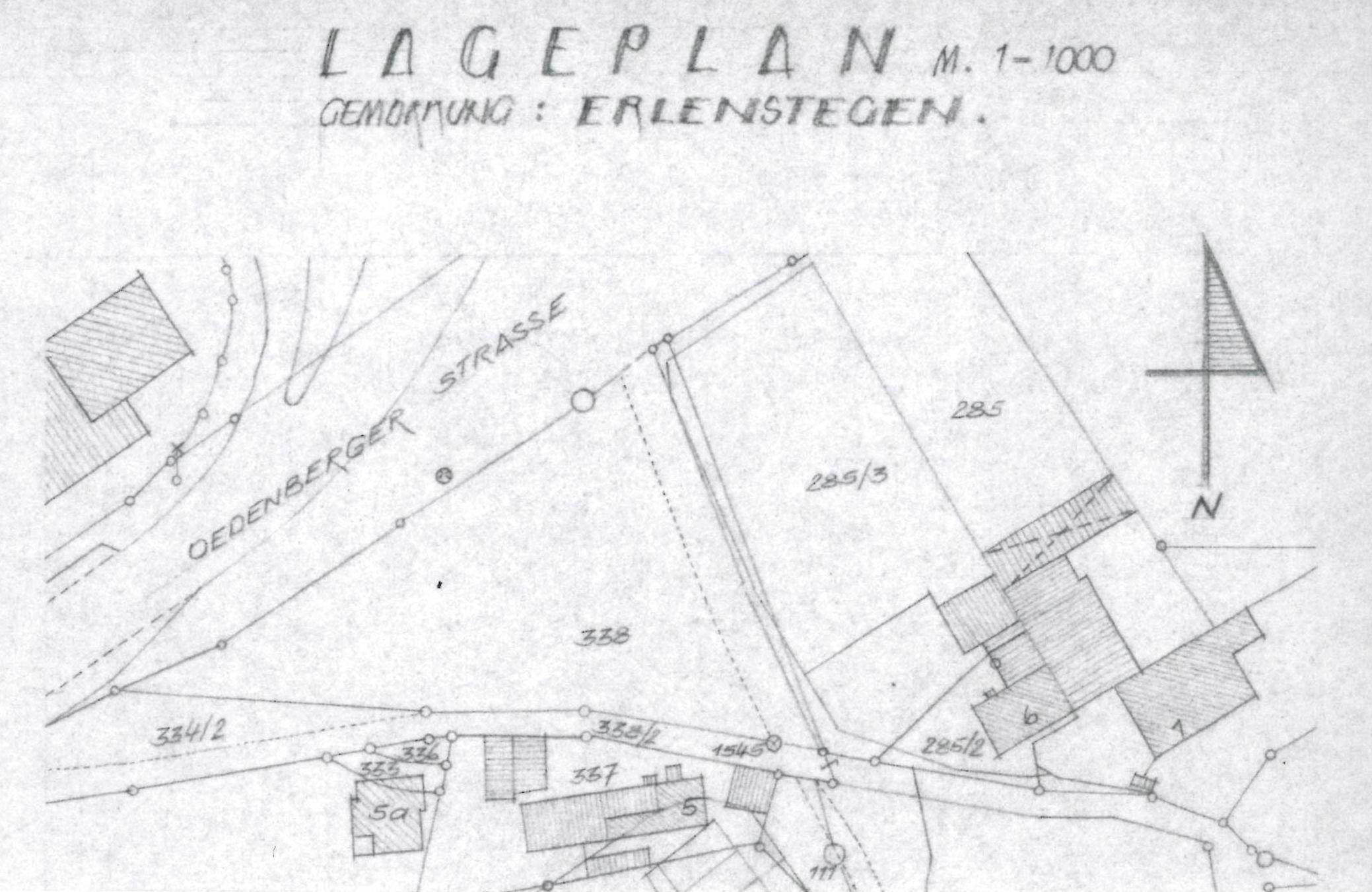 Lageplan Oedenberger Straße