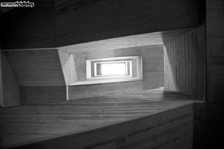 Trepenhaus der Norishalle, 2010 (Foto Julia Kraus)