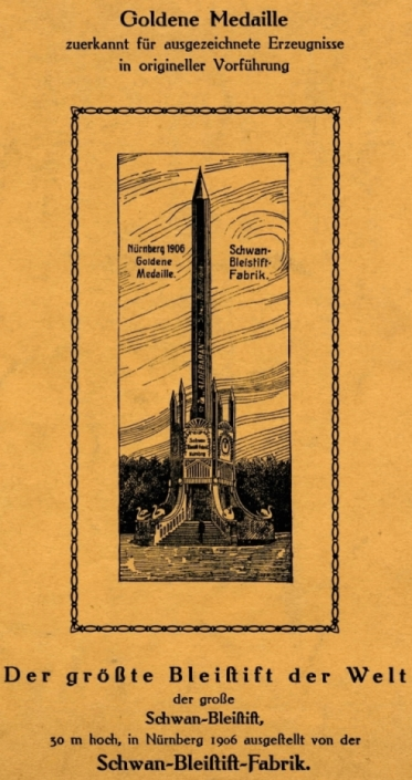 Preisliste D20 der Schwan-Bleistift-Fabrik, 1925