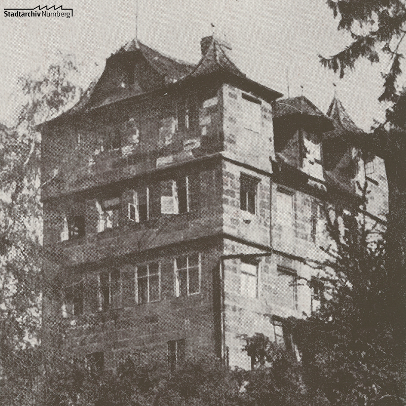 Doktorsschlösschen in Mögeldorf (Stadtarchiv Nürnberg A 108 Nr. 304 / 20)